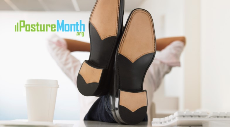 Tip 4 Sole Searching - Check Your Posture Foundation  |  http://PostureMonth.org    http://PostureMonth.org    #posture  #HealthyLiving