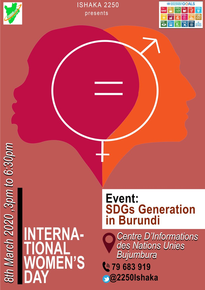 #ESD at @unicbujumbura During this #DecadeOfAction On SDGs, Young people are not left behind. For sure, their contribution starts with awareness. Welcome to the Event #SDGsGeneration in Burundi. @KouassiNicole @tiemrich @caeciliawijgers @VeroniqueKabon1
