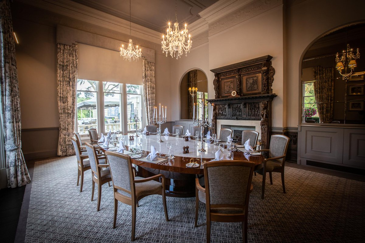 Our Main House function spaces are perfect for formal private dinners and corporate events that are looking for a space with a sense of history and grandeur, however still features all of the modern touches expected. 01279 731441  #FuctionSpace #Essex #Hertfordshire #Hotel