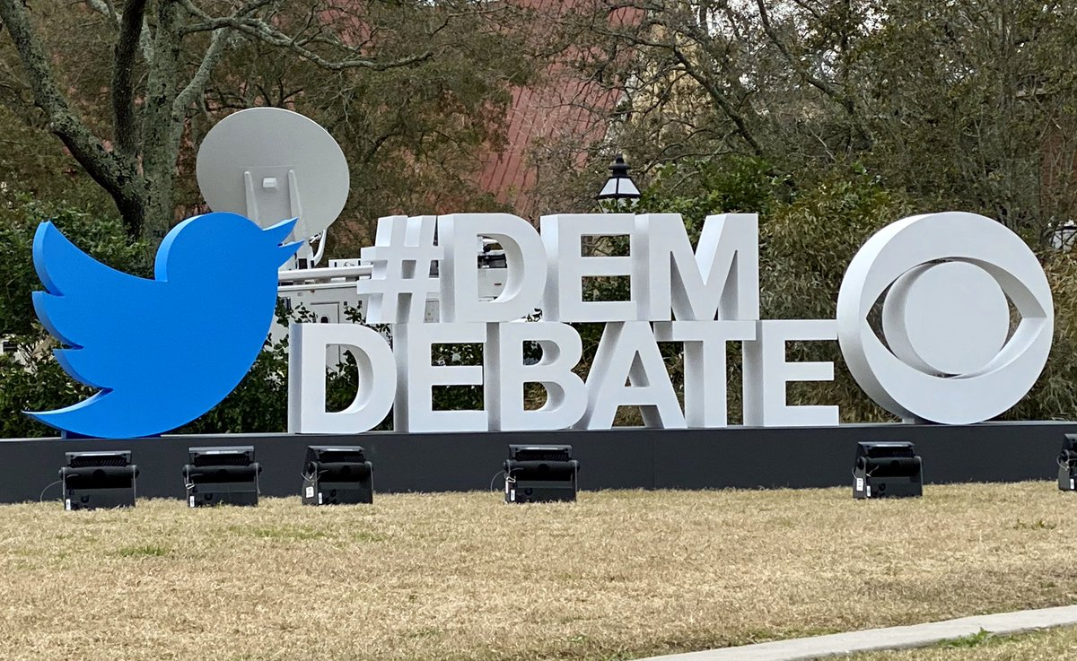 Excited to be at #DemDebate in Charleston to talk about how Twitter's working to protect the integrity of the public conversation!
