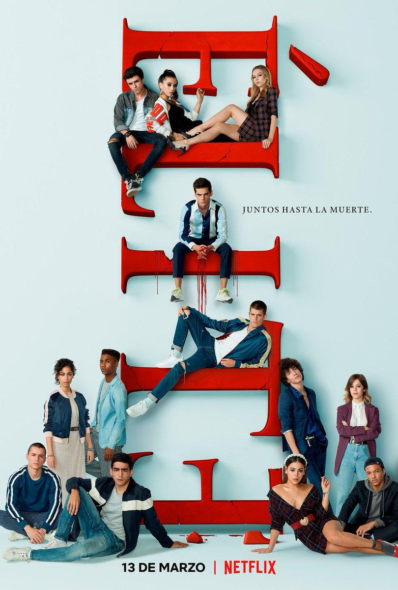 #MovieNews Tenemos el póster oficial para la tercera temporada de #Elite se estrena el 13 de Marzo en #Netflix  #Elite3pic.twitter.com/FT0aypXYNH