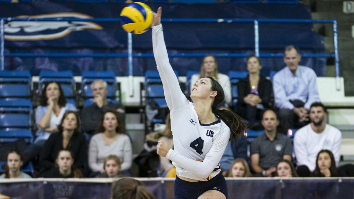 WVB | Third-year Gabrielle Attieh has been named a first team @CanadaWest All-Star while outside hitter Erika Vermette has been named to the conference All-Rookie team @VBallCanada   @RichLamPhoto   https://canada-west.prezly.com/wvb-all-starspic.twitter.com/KynDbVOBsI