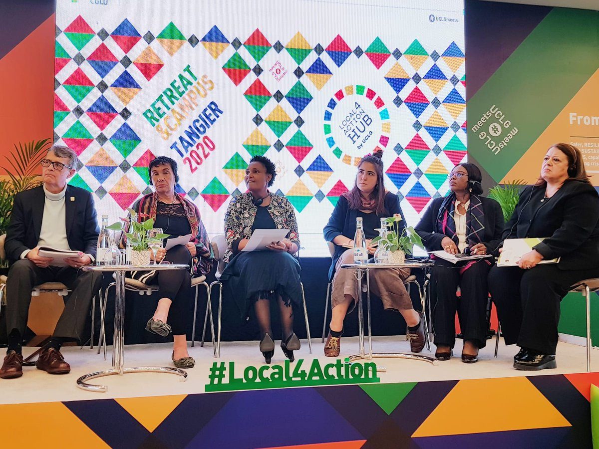 We need to: ✨exchange ideas and share them in our networks ✨go beyond legislation and promote culture and education on equality ✨structure our debate & many more thoughts were shared at our Equality and rights session #UCLGMeets Thank your for your participation!