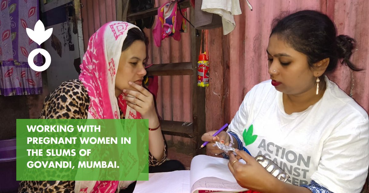 With one to one #support  and #access  to #health  services, #pregnant  #mothers  can have a risk free #pregnancy  and give #birth  to #babies  that are #healthy  and #malnutrition  free. Seen here is regular #counseling  session with a #pregnant  #mother  in the #slums  of #Govandi , #Mumbai .