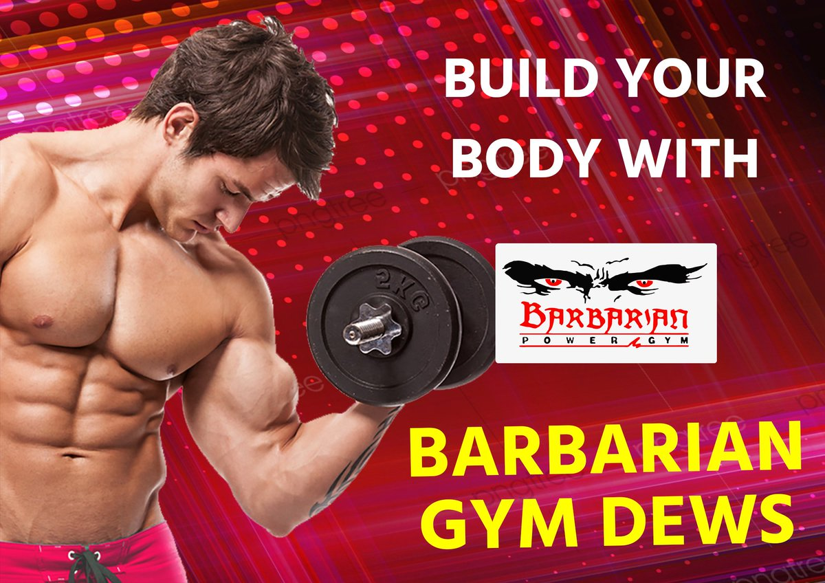 Build body with Barbarian Gym Dewas! #fitness  #gym  #workout  #fit  #fitnessmotivation  #motivation  #bodybuilding  #training  #health  #fitfam  #crossfit  #sport  #lifestyle  #gymlife  #healthy  #love  #healthylifestyle  #personaltrainer  #muscle  #instagood  #weightloss  #exercise  #gymmotivation