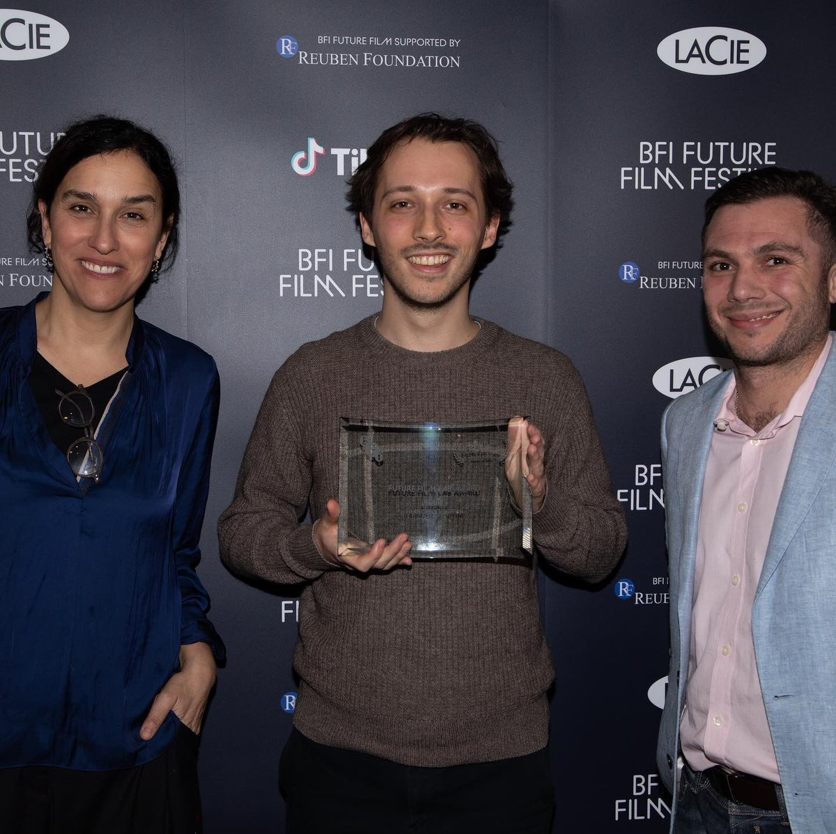 WIN! @virginiafilm won the Future Film Lab Award at the brilliant @BFI #FutureFilmFest 2020. Thank you so much to the BFI, the jury and for the fantastic support by @LaCieTech! So excited about the next projects. https://t.co/KgjDjoggy2