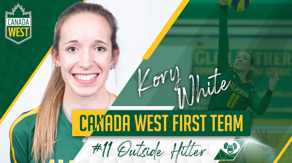 WVB | ALL-STARS  Congrats to our two @PandasVB athletes who were named @CanadaWest All-Stars on Tuesday!  First Team OH - Kory White  Second Team OH - Julia Zonneveld  : https://www.ualberta.ca/athletics/teams/volleyball-w/pandas-volleyball-news/2020/february/kory-white-and-julia-zonneveld-named-conference-all-stars…pic.twitter.com/qadUkUIWhQ