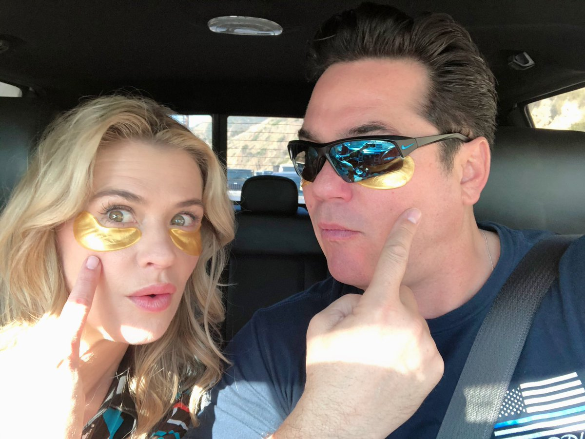 FB Eye Lovebirds headed to rehearsal 😎😂@RealDeanCain #KristySwanson #FBILovebirds @CPAC