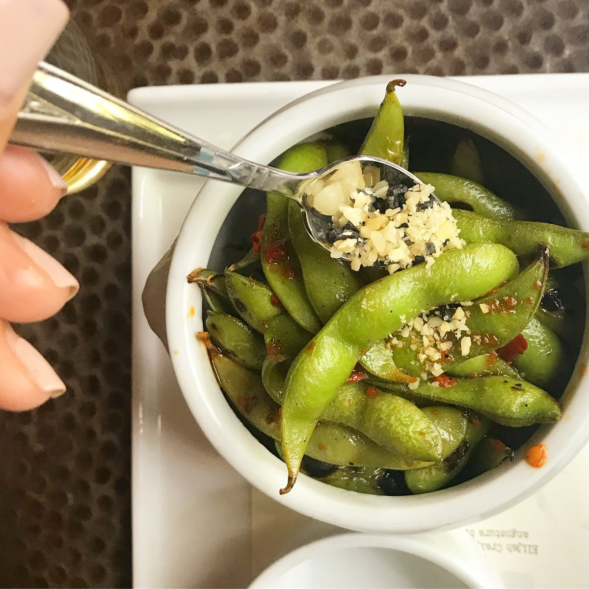 The grown up (& healthier) version of Pop Rocks . Charred Edamame with Chile Oil & Pop Rock. #swiftsattic #eatswiftly #farmtotable #edamame #eateratx #opentable #eatyourveggies #opentable #atxbesteats #culturemapatx #texasmonthly #dineatx #365thingsaustin #atxfoodie #poprockspic.twitter.com/taPkt1JLDP