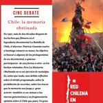 Image for the Tweet beginning: Proyección de Cine-#Debate Chile: la