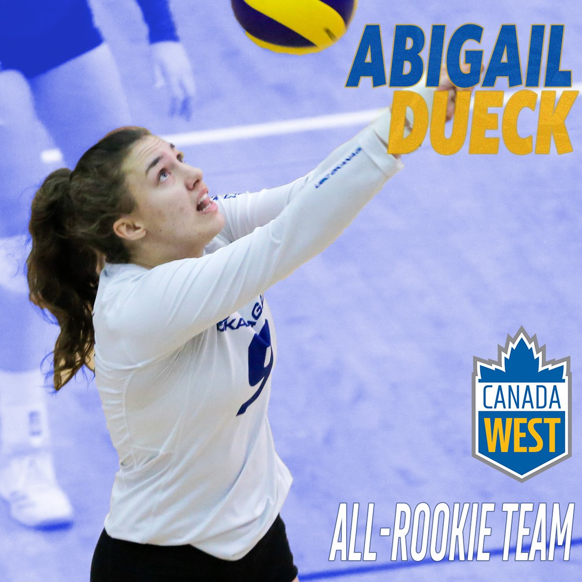 WVB Abi Dueck and Amaya Perry named to @CanadaWest All-Rookie team  The future is white-hot for @UBCOHeatWVBall.  For the 2nd straight year, 2 members of the Heat women's volleyball team have been selected to the All-Rookie Team.  http://goheat.ca/sports/wvball/2019-20/releases/20200225im01lu…pic.twitter.com/gV4EPNEfFy