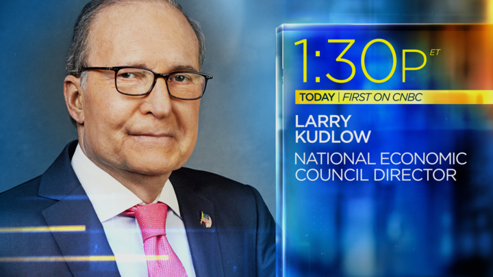 COMING UP: Dont miss NEC director Larry Kudlow on @CNBCTheExchange  live at 1:30pmET today for a first on @CNBC  interview.