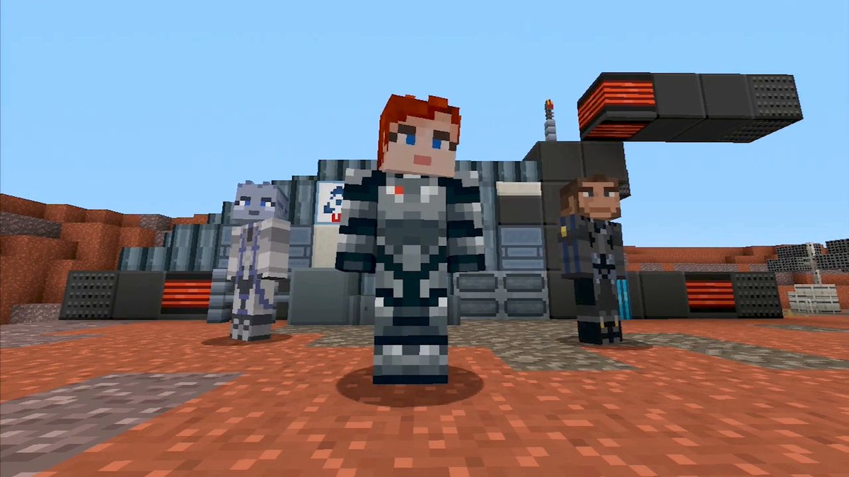 Mass Effect Comes To Minecraft, Here's Everything In The Pack - GameSpot