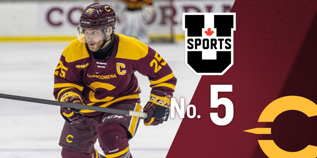 The Stingers men's hockey team claims a spot in the U SPORTS Top 10 rankings for the first time this year following its run to the OUA East Final. Concordia heads to Ottawa Thursday night for Game 1 versus the Gee-Gees. #CUstingers #CUhockey #QuestForTheCuppic.twitter.com/FUs8uED5Wj