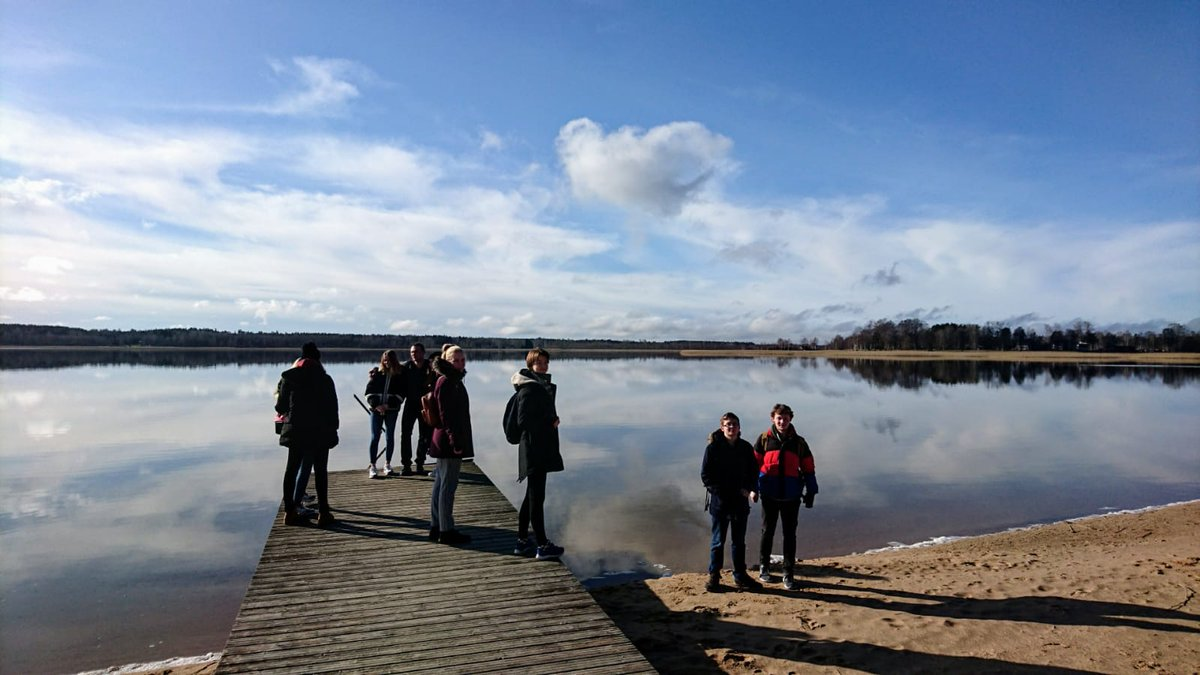 test Twitter Media - Thank you to our colleagues from the Võru Gümnaasium in Estonia for the warm welcome of our #ErasmusPlus students at their school today. Projects were presented and the town of Võru explored. @Leargas https://t.co/9CZVTeL93W