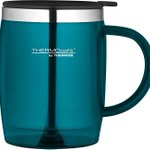 Image for the Tweet beginning: Thermos ThermoCafé Translucent Desk Mug,