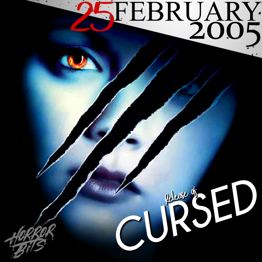 """What doesn't kill you makes you stronger.""   More cool stuff on our Insta!⁣    What did you think of Cursed?  Check out our videos on Youtube - LINK IN BIO!  #Cursed #ChristinaRicci #2005Horror #WesCraven #horrormovies #interestingfacts #movieposterart #instahorrorpic.twitter.com/HRBXUgokdp"