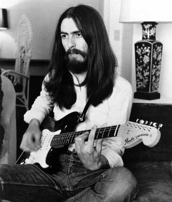 Happy birthday to the legend, George Harrison