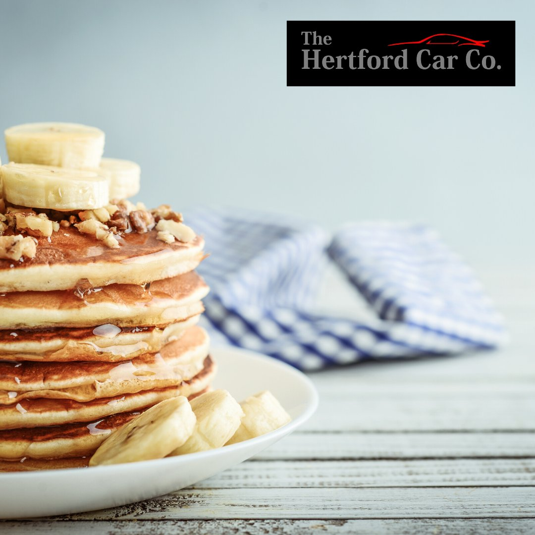 We're zooming through our stack of pancakes here at The Hertford Car Company!  What do you have with yours?  #pancakeday #pancaketuesday #internationalpancakeday #shrovetuesday #pancakes #usedcar #cardealer #Hertford #Hertfordshire #StAlbans