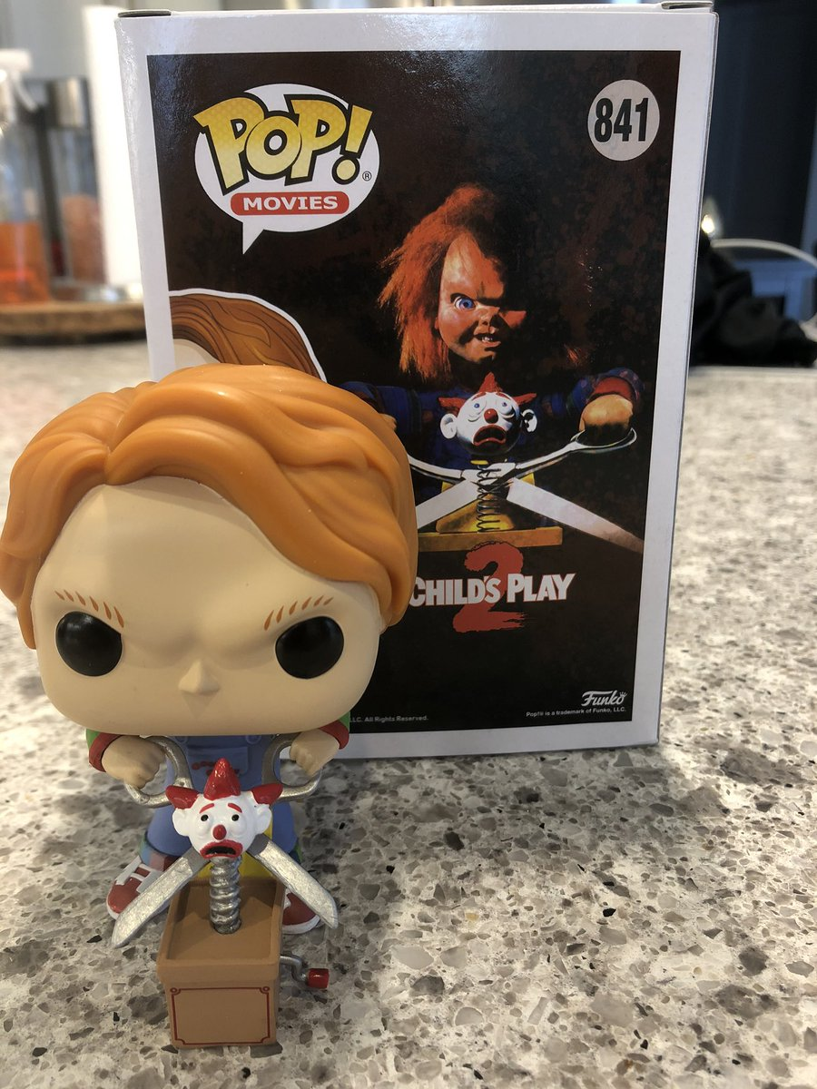 Found this one on the weekend. #Chucky, #ChildsPlay2, #FunkoPOP, #HorrorCollector pic.twitter.com/TdMuVf6vuo