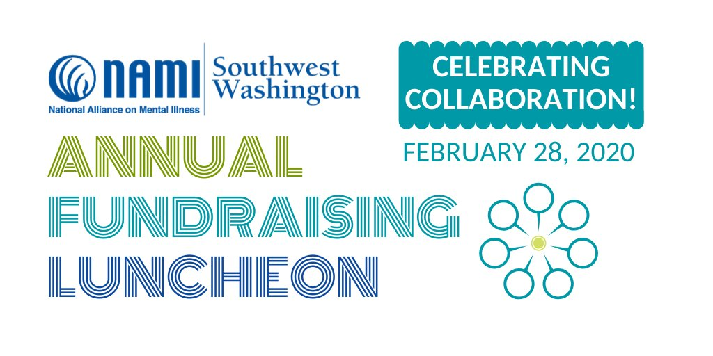 Our Annual Fundraising Luncheon is this Friday at noon! Purchase your seats online at  http://namiswwa.org   or go here  http://namiswwa.org  . Thank you for your support!! #mentalhealth  #nami  #mentalhealthawareness