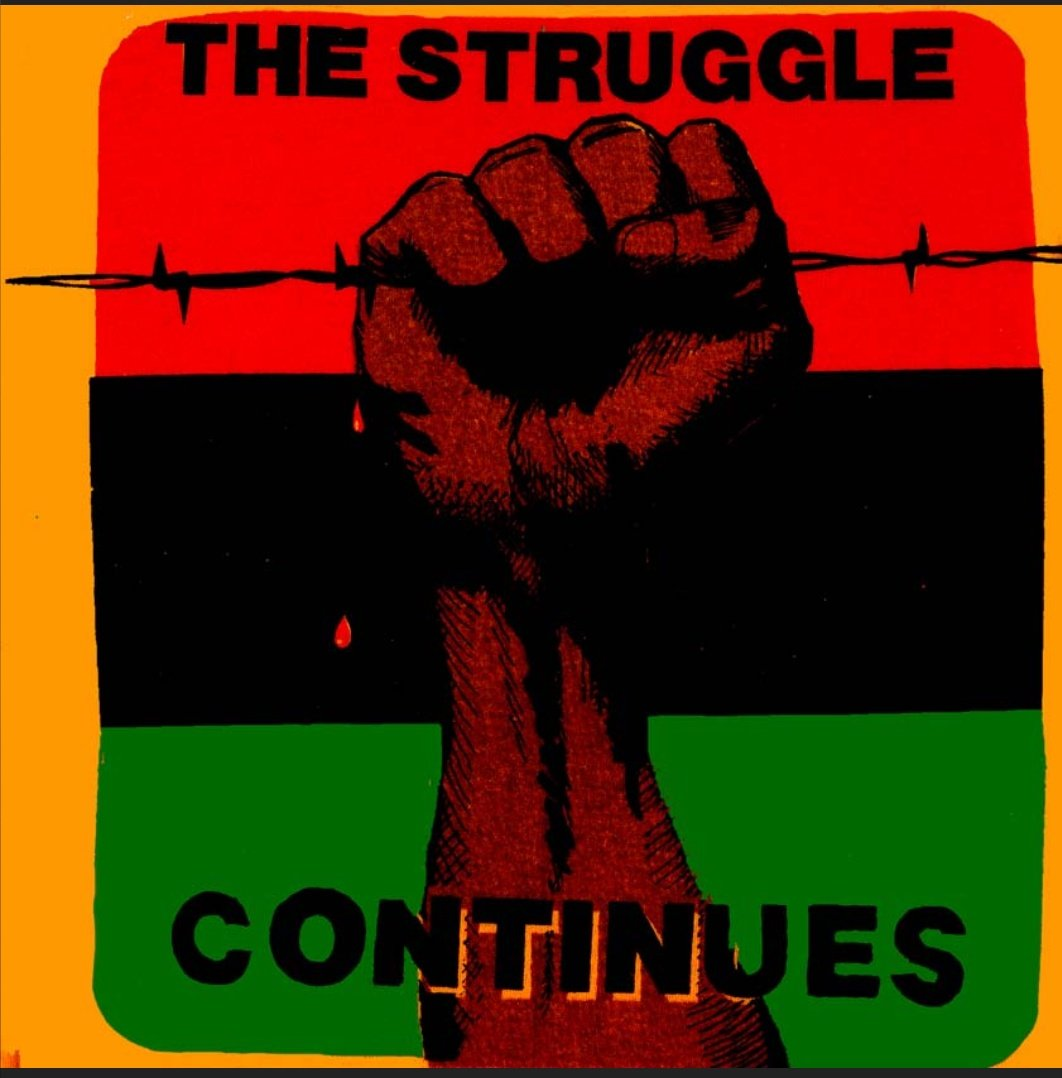 With All The #Love #TearDrops The Fight Is On The Struggle Continues But We Must Go On Nothing Can Stop Us Ehen You #BuildTogether When☝Dig We All Dig U Dig #2020 We Coming #Black #BlackPower #Unity #Vote4Change #Vote #BlackHistoryMonth