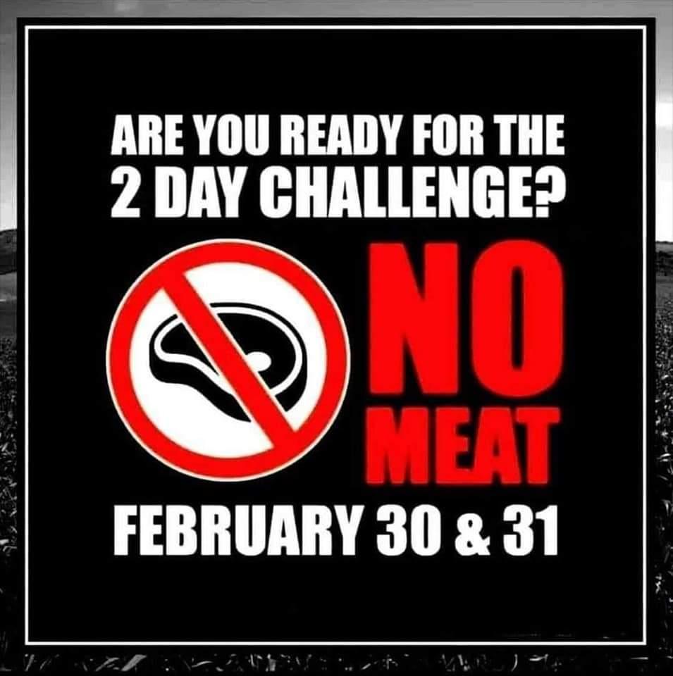 Whos in?? #challenge  #diet  #meat  #vegetarian  #funny