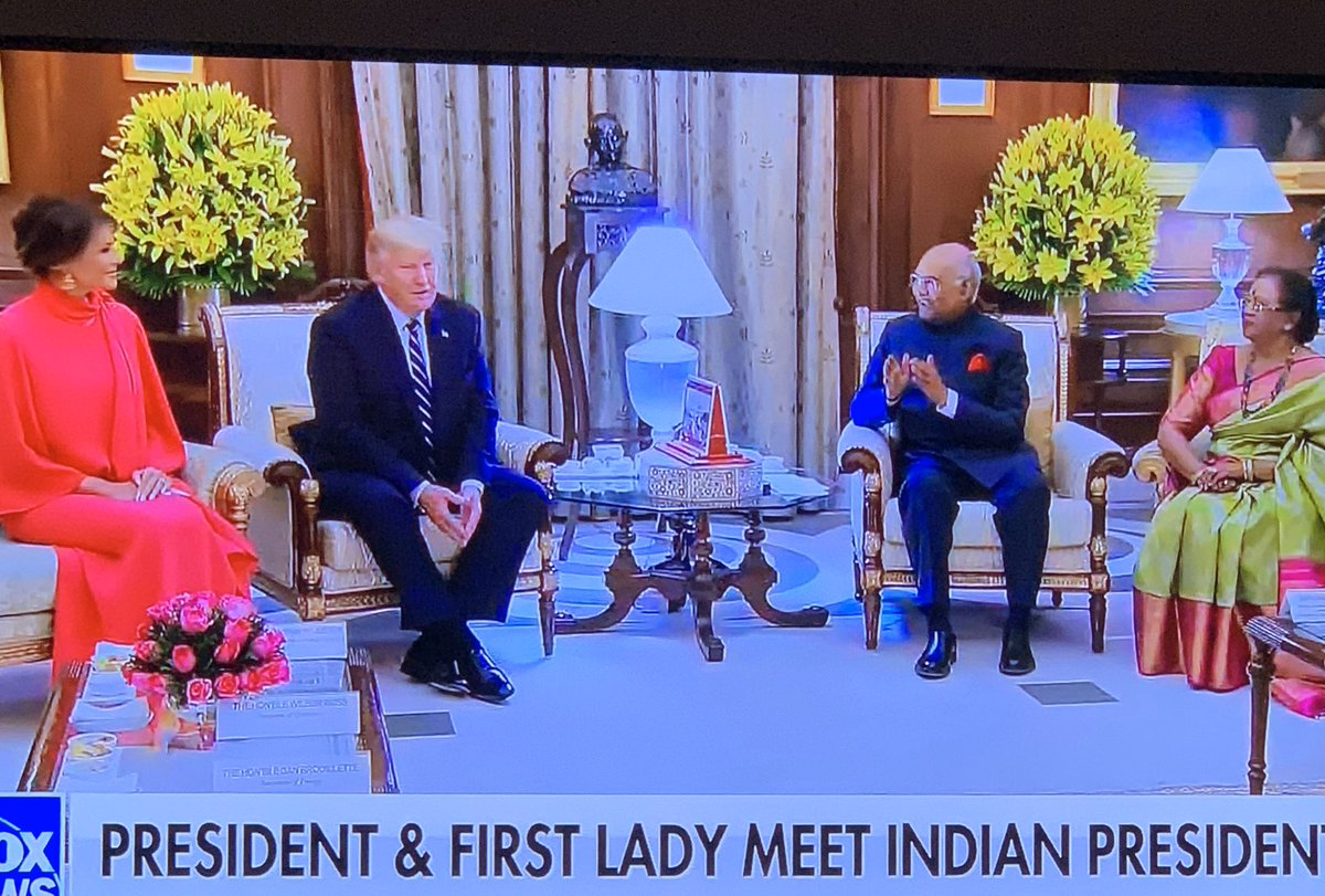 Happy to see this meeting.  Would love favorable trade with India.  Their apparel has the potential to surpass China.   #India #meetandgreet #KAGpic.twitter.com/W7pqYop8wG