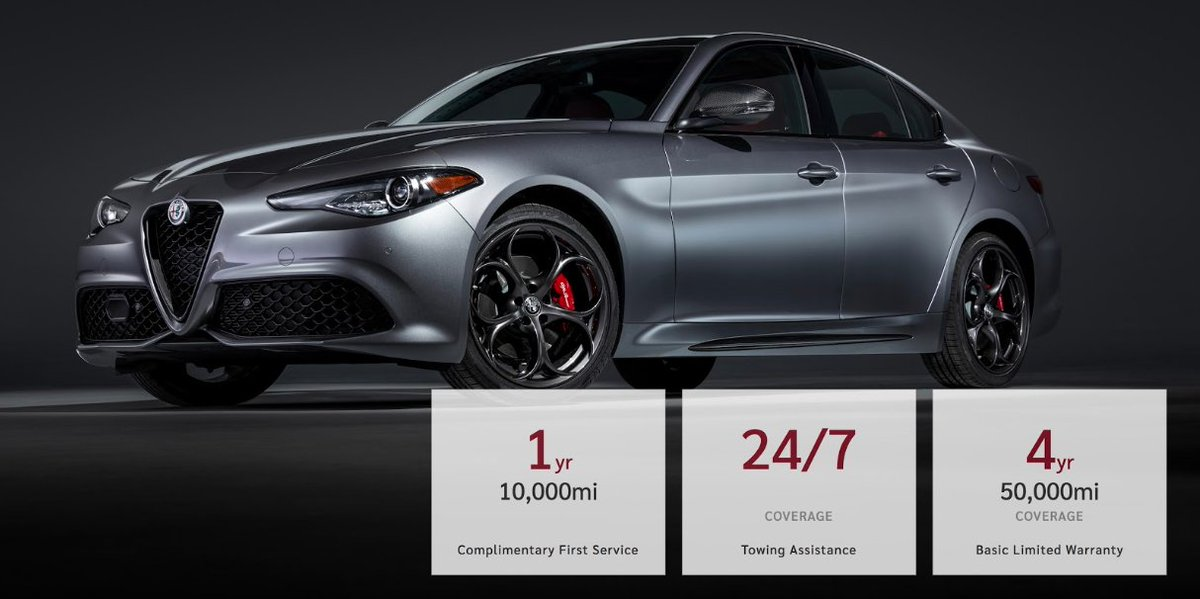 Do you have questions about your @AlfaRomeo limited warranty coverage? Click here to learn more https://t.co/PCOGcXH7cY https://t.co/ZDaEwki99s