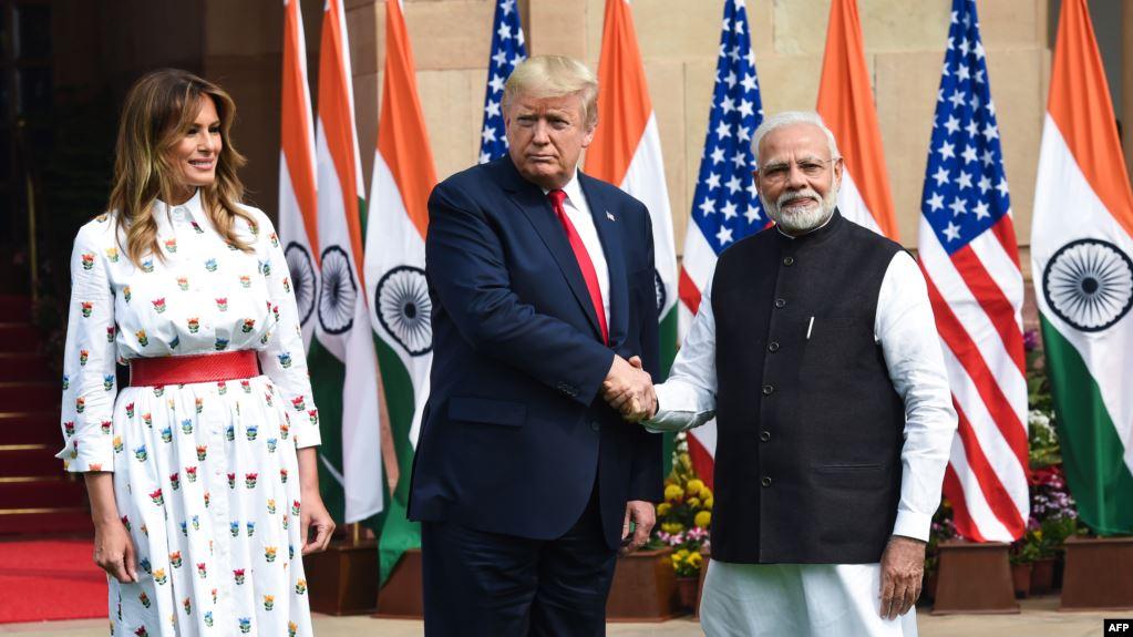 El presidente de Estados Unidos, Donald Trump, y el primer ministro indio, Narendra Modi, dijeron que sus países están trabajando en un importante acuerdo comercial.  Lea la nota en http://bit.ly/2w0sun9pic.twitter.com/OLGxeeUfdU