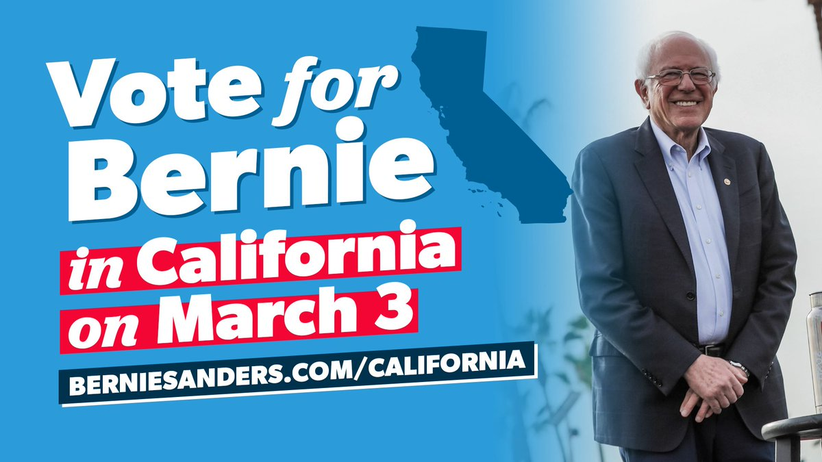California: if you aren't registered to vote and you want to push our movement forward, don't worry.  California has same-day voter registration. Go to your voting center to get registered and cast your vote in this critical election.  Visit http://berniesanders.com/california  to learn more.