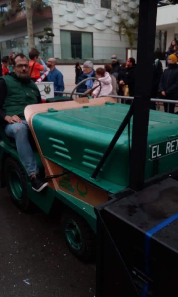 Preparat per la Rua #SitgesCarnaval20 #ElRetiro #carrossaires