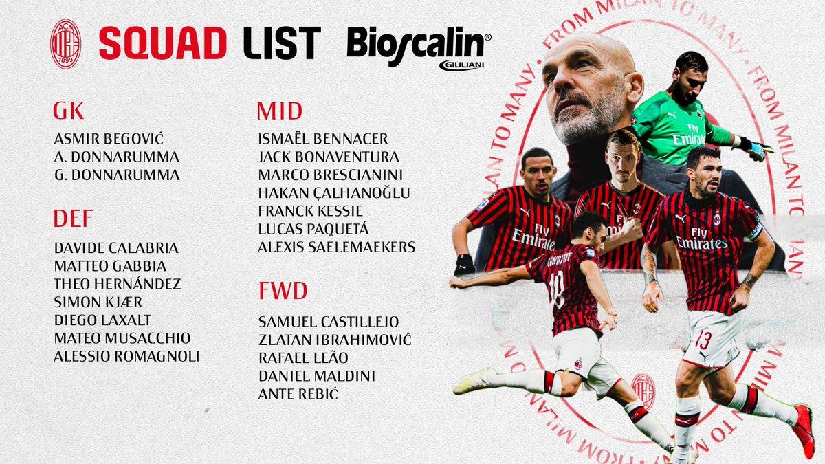 19-20 コッパ・イタリア 準決勝 1st leg (H) ミラン 1-1 ユヴェントス ⚽️ レビッチ① 🏟 サン・シーロ 🔴⚫️  #CoppaItalia  #MilanJuve  #SempreMilan  #ForzaMilan