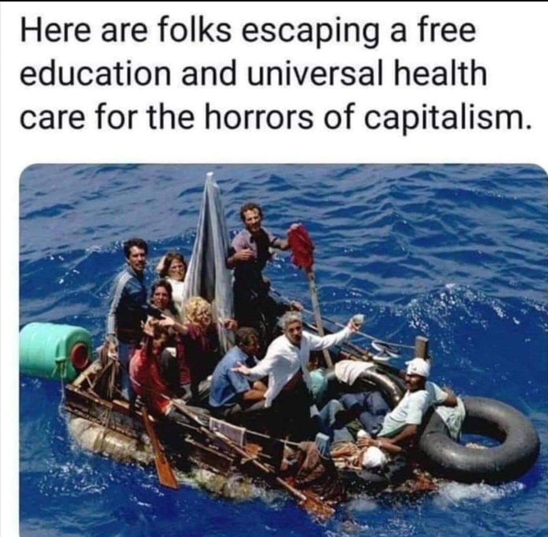 Explain why so many are leaving socialist countries to come here. pic.twitter.com/5QnQ0K0Q9K