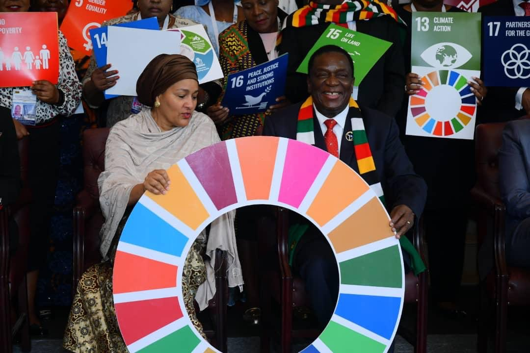 #Africa has the energy & the determination to realise #Agenda2063 & #2030Agenda. We can raise ambition & accelerate action to ensure a future of dignity, peace & prosperity for all. I thank President @edmnangagwa, the Government & people of #Zimbabwe for hosting the #ARFSD2020