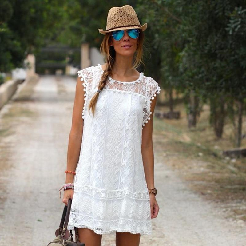 Lady's Cute Lace Mini Dress, Beach Cover Up, Casual!!  You Would Look Great In This Dress!!! #fashion #fashionable #fashionblogger #fashionstyle #fashionista #style #stylish #love #women  #beautiful #beauty #trend #shopping #clothing #clothes #dress
