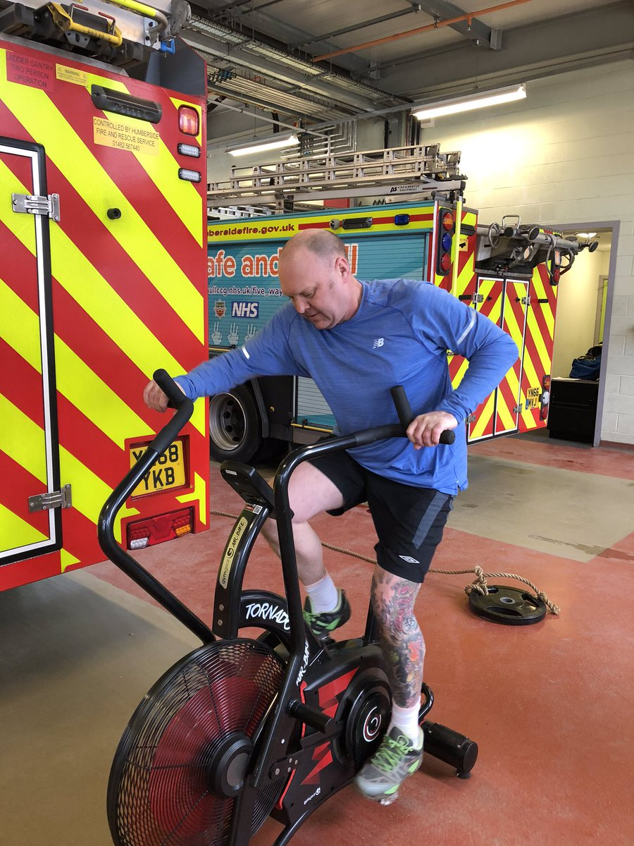 Great effort @CFOBlacksell and thanks for taking the time today to speak to us. It's great to see the whole of @HumbersideFire is behind this years British Firefighter Challenge. A real team effort to deliver our biggest and best event yet!