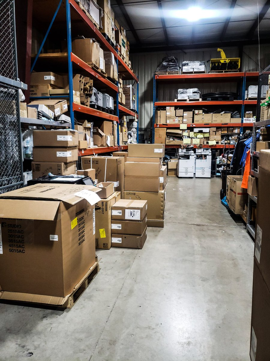 Lots of machines to build today! #stanslpsmidwest #yourtechnologyhometeam #atstanslpsmidwestyourethebest  #TuesdayMorning #TuesdayMotivation #tuesdayvibes #technologytuesday pic.twitter.com/yb5ntO5gGp