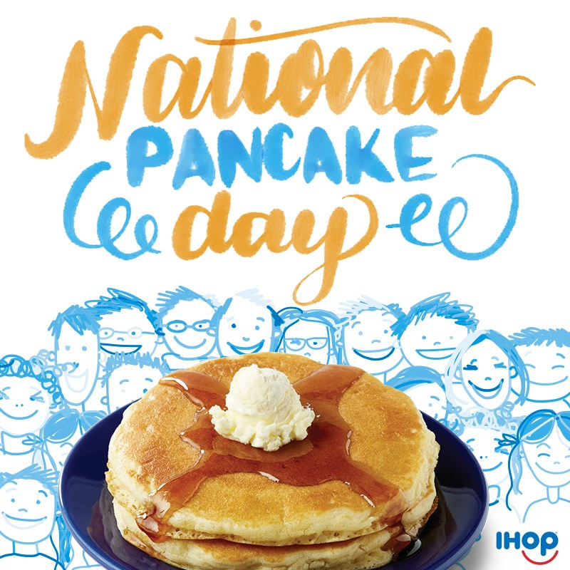 ¿No sabes qué desayunar? Te cuento que hoy es el #NationalPancakeDay en @IHOPMxOficial! Vayan y pidan 2 Buttermilk Pancakes por $29 pesos, la suma recaudada se donará @AMANCMEXICO Ayuda y disfruta.  ¡Lindo día!