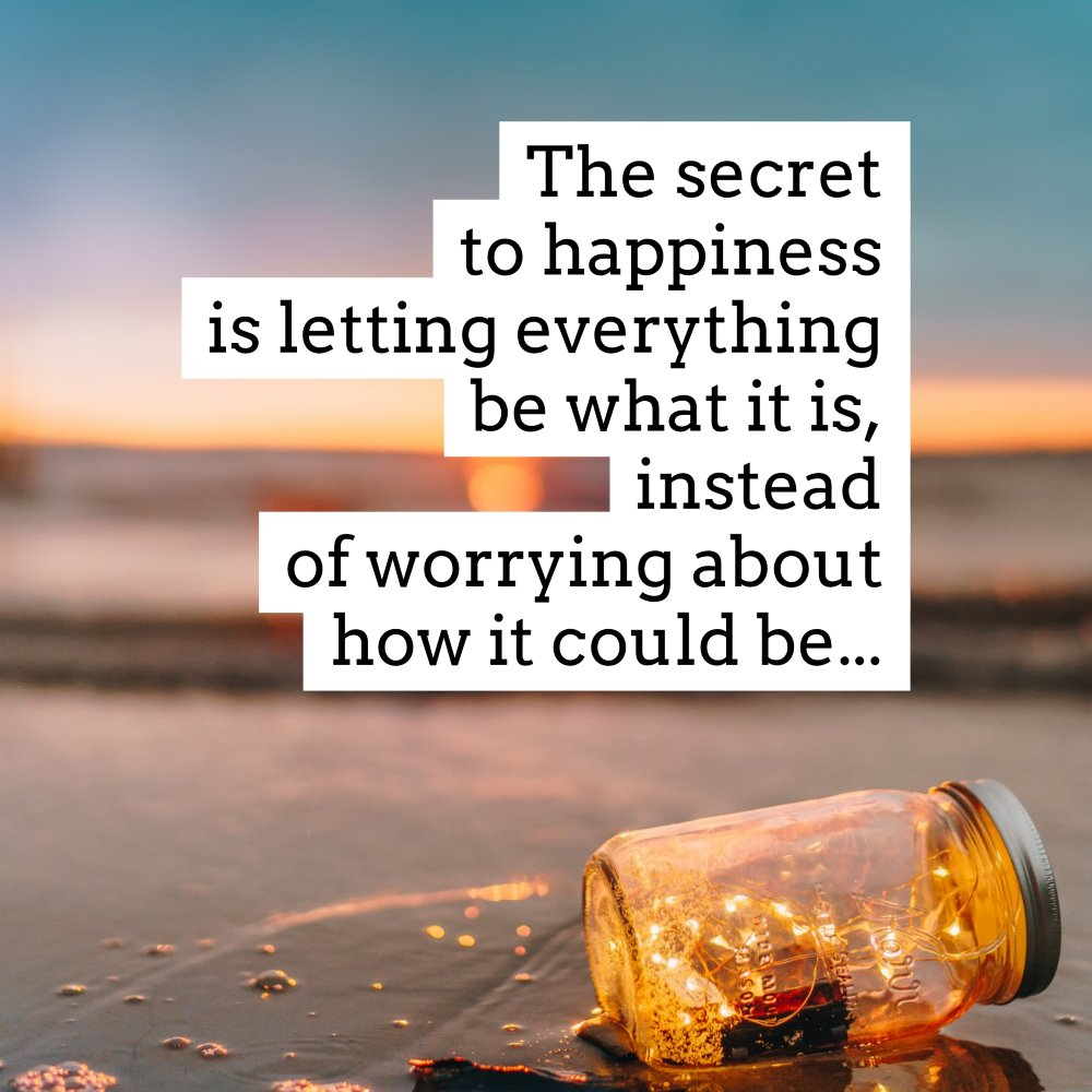 Thinking about life this way is so liberating. It is what it is and all you can control is how you act moving forward. #motivation  #goodadvice  #happiness
