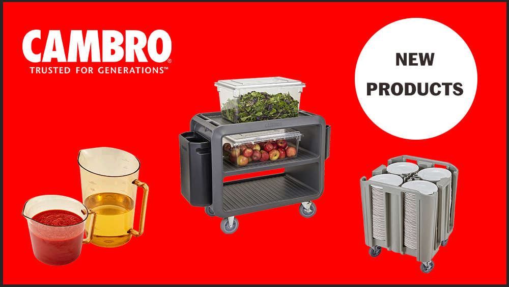Image for New Products from Cambro available from FEM - https://t.co/MHKK6hOlip https://t.co/5MyafAuzGE