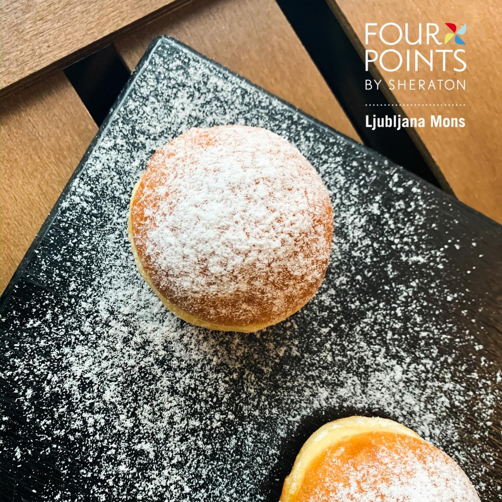 During the Carnival season, the smell of festive delicacies spreads all over Slovenia; among them, doughnuts (krofi) have a special place. Be sure to stop by and visit ours.  #carnival #slovenia #festive https://t.co/eEZFP6shWw