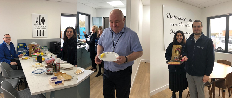 test Twitter Media - Well done and thanks to all of our staff for contributing to our Pancake Day in aid @Shelter. An amazing £65 was raised. Well done to Ayman for winning the pancake toss competition with an impressive 41 tosses.  #pancakeday #shelter https://t.co/EqAZnolJ8J