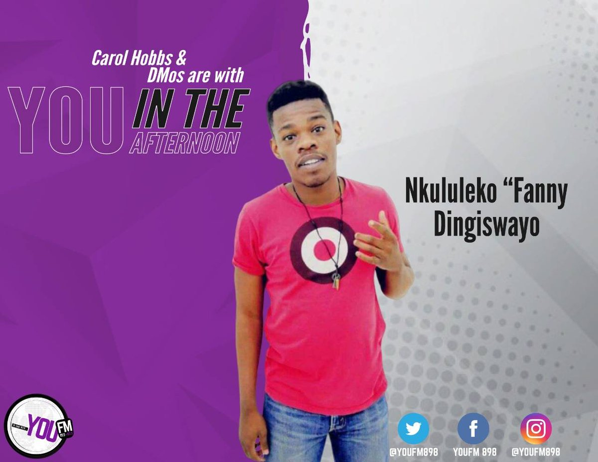 An aspiring actor Nkululeko Dingiswayo writes a new narrative about Taung, find out more as we chat with him.  #YOUInTheAfternoon with @za_vibe @MsCarolHobbs @mphogaletshitse @KMokgalagadi  DSTV Channel 842  #CelebratingYOU #YOUInspireUs