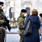 Image for the Tweet beginning: Growing European coronavirus fears could
