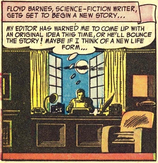 Your context-free comic book panel of the day.