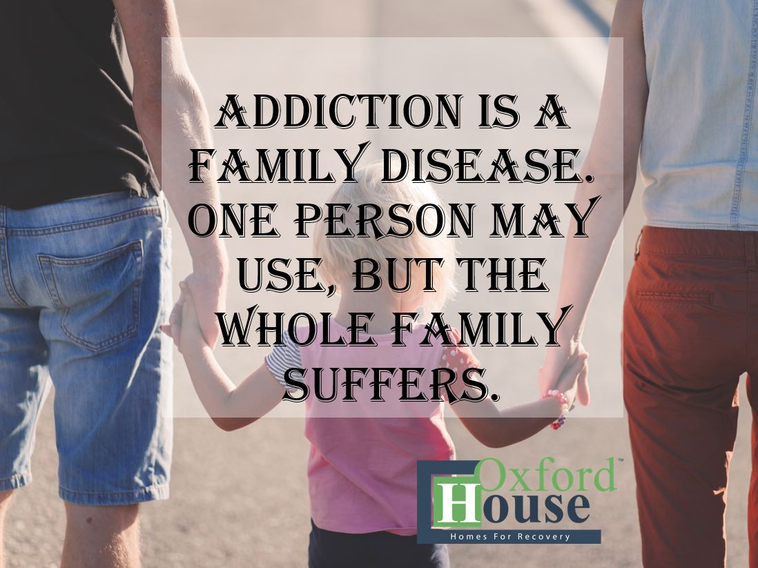 Just as addiction negatively impacts more than the addict, recovery positively impacts the addict, their family and future generations.  http://oxfordhouse.ca/programs/   YOURE WORTH IT! #WeDoRecover  #recovery  #soberliving