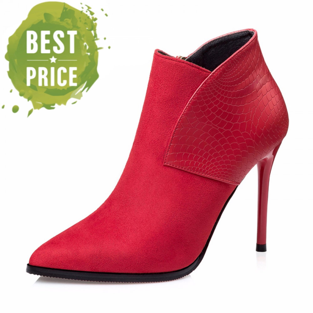 Autumn Winter Pointed Toe Ankle Boots #girls #clothes