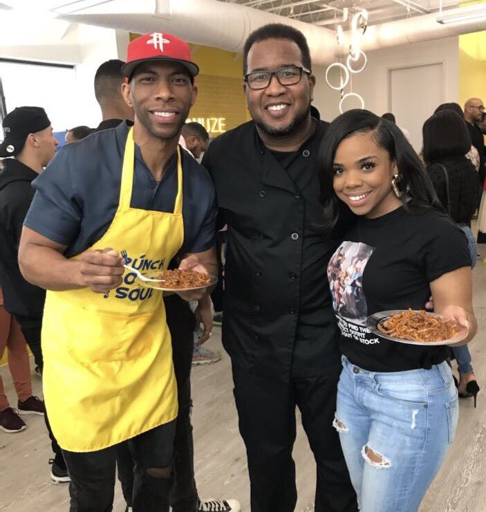 Highlighted several amazing #Houston chefs at my #BrunchBodySoul event. They all make delicious & healthy dishes.
