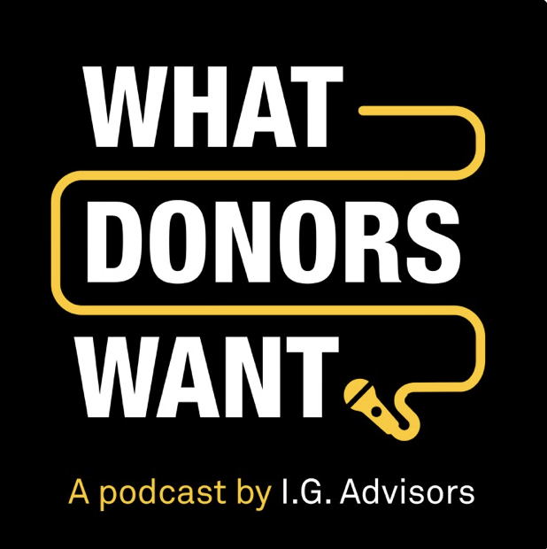 Have you listened to @IG_Advisors #WhatDonorsWant podcast? In this episode, guest speakers Philippa Charles & Flora Craig give a behind-the-scenes view into the grant-making process! Listen here: fal.cn/36Knp